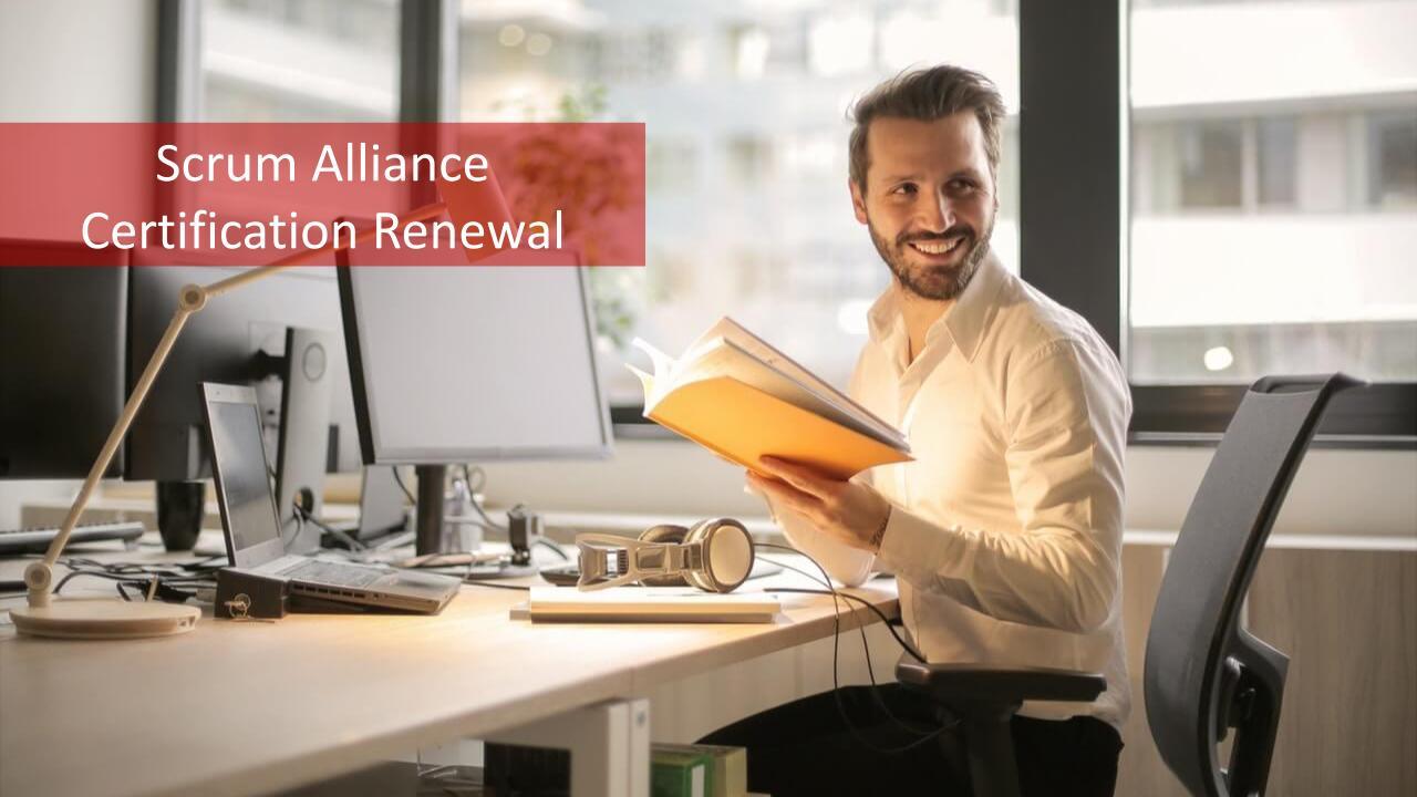 Scrum Alliance Certification Renewal