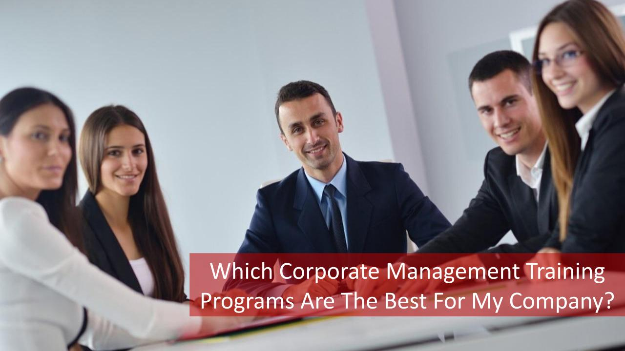 Business Meeting For Corporate Management Training Programs