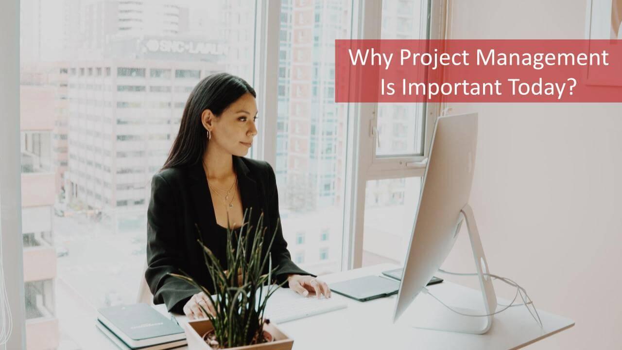 Why Project Management Is Important Today? A Project Manager Working On Her Desk